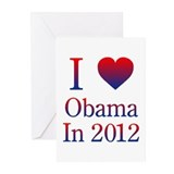 Obama 2012 Greeting Cards (Pk of 10)