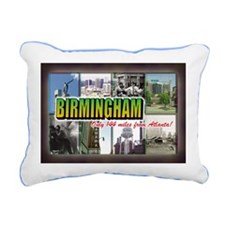Birmingham Rectangular Canvas Pillow