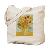 Van Gogh Sunflowers for Amy Tote Bag