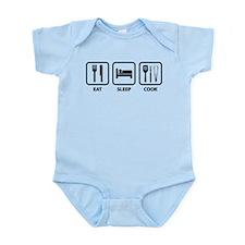 Eat Sleep Cook Infant Bodysuit