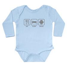 Eat Sleep Droid Baby Suit