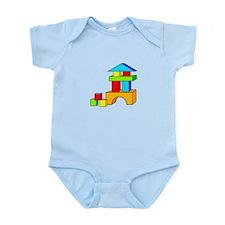 Building Blocks Infant Bodysuit
