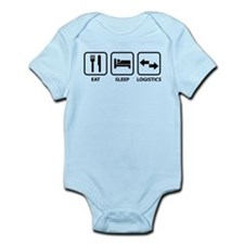 Eat Sleep Logistics Infant Bodysuit