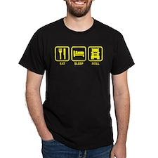 Eat Sleep Roll T-Shirt