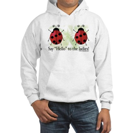 Hello Ladies Hooded Sweatshirt