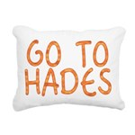 Go To Hades Rectangular Canvas Pillow