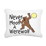 Moon A Werewolf Rectangular Canvas Pillow