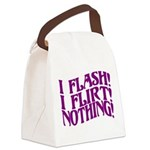 Flirty Flasher Canvas Lunch Bag