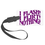 Flirty Flasher Large Luggage Tag