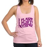 Flirty Flasher Racerback Tank Top