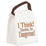 I Think! Canvas Lunch Bag
