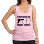 Serious Fragging Racerback Tank Top