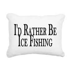 Rather Ice Fish Rectangular Canvas Pillow