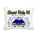 Ghost Ride It Rectangular Canvas Pillow