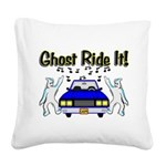 Ghost Ride It Square Canvas Pillow