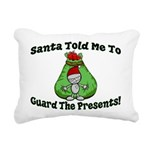 Guard Presents Rectangular Canvas Pillow