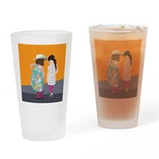 The Pink Boots Drinking Glass
