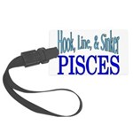 Pisces Large Luggage Tag