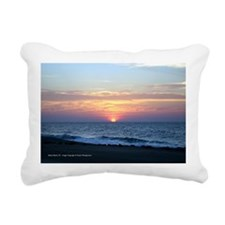 Sunrise Rectangular Canvas Pillow