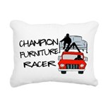Champion Furniture Racer Rectangular Canvas Pillow