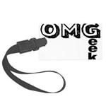 Oh My Geek Large Luggage Tag