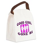Good Girl Gone Bi Canvas Lunch Bag