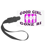 Good Girl Gone Bi Large Luggage Tag