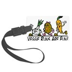 Veggie Runs Large Luggage Tag