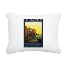 Morocco Maroc Rectangular Canvas Pillow