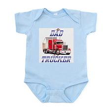 trucker kids Infant Creeper