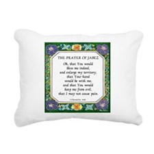 2 Prayers: Prayer of Jabez a Rectangular Canvas Pi