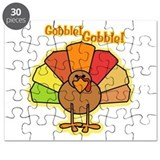 Thanksgiving Turkey Cartoon Gobble Puzzle