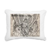 Archangel Zadkiel Rectangular Canvas Pillow