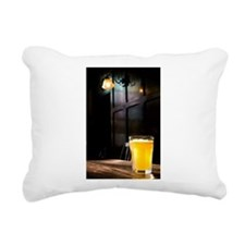 English Pub Rectangular Canvas Pillow