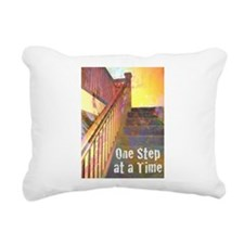 RECOVERY 12 STEPS Rectangular Canvas Pillow