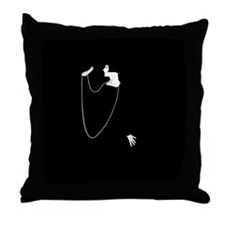 Louise Brooks 1920s Glamour Throw Pillow