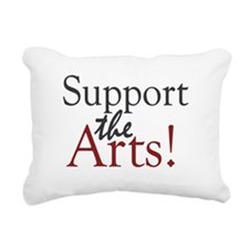 Support the Arts Rectangular Canvas Pillow