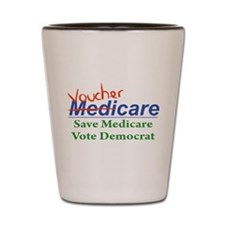 Medicare Will Become VoucherCare Shot Glass