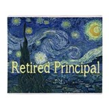 Principal retirement Throw Blankets