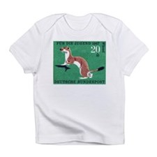 Weasel 1967 German Postage Stamp Infant T-Shirt