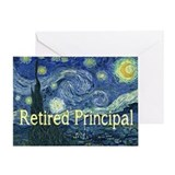 Retired Principal Van gogh blanket.PNG Greeting Ca