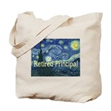 Retired Principal Van gogh blanket.PNG Tote Bag