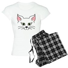 White Cat Pajamas
