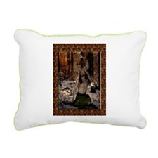 Herne, The Reborn Lord Rectangular Canvas Pillow
