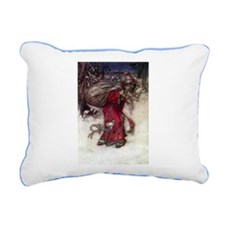 Arthur Rackham Holiday Rectangular Canvas Pillow