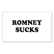 Romney Sucks Decal