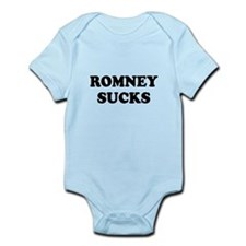 Romney Sucks Infant Bodysuit