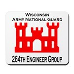WIARNG 264th Engineer Group Mousepad