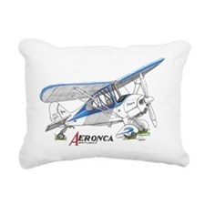Aeronca Airplanes Rectangular Canvas Pillow