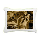 Funny Carousel horse Rectangular Canvas Pillow